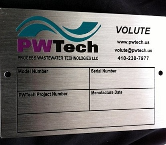 Inventory Tags, Serial number Labels & Nameplates